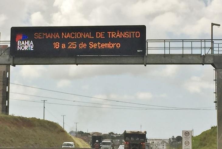 Bahia Norte realiza série de ações na Semana Nacional do Trânsito