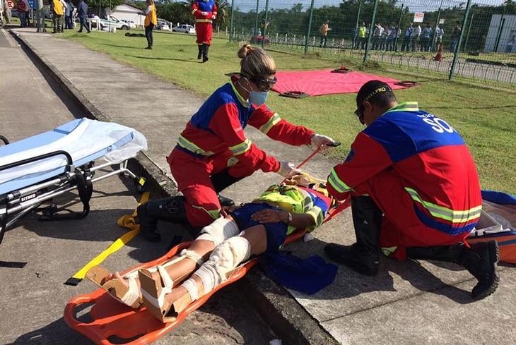 Bahia Norte realiza simulado de resgate