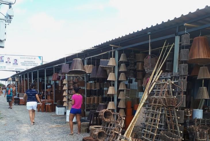 Centro de artesanato de Sucupió muda de local na BA-099