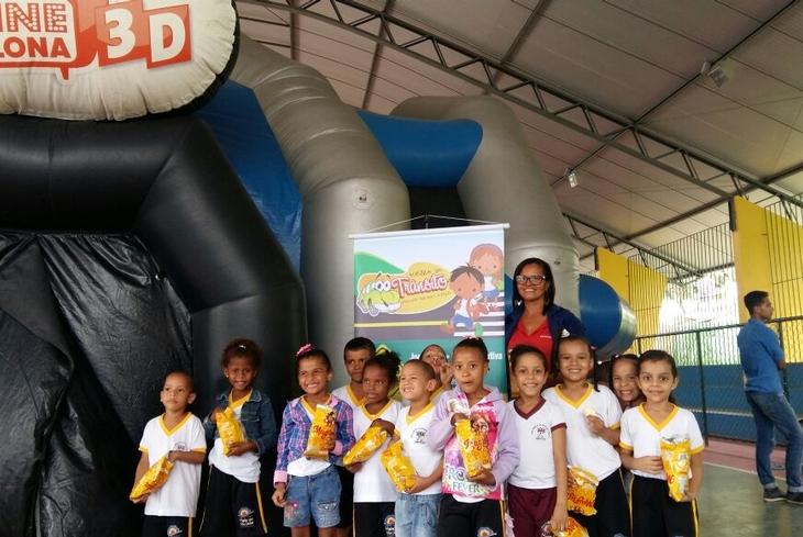 Projeto da Bahia Norte leva cinema a 320 crianças de Mata de São João