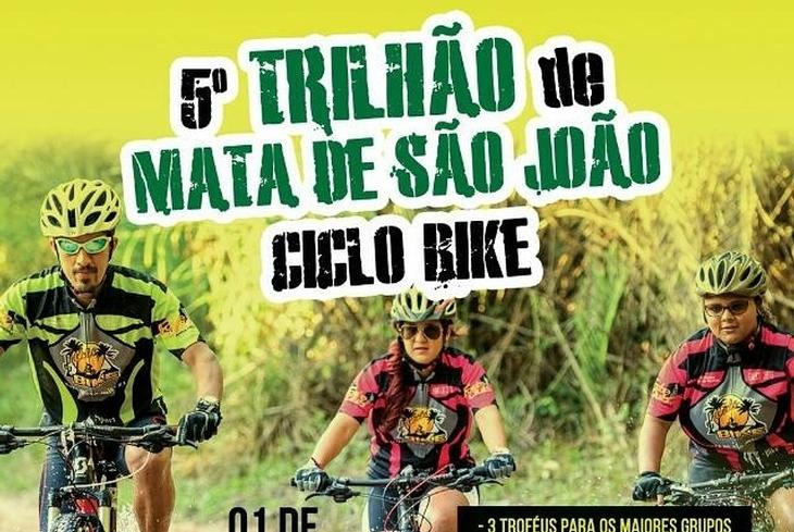 Trilhão de Mata de São João reúne mais de mil ciclistas