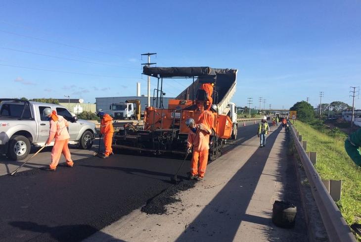 Bahia Norte dá sequência a intervenções nas rodovias