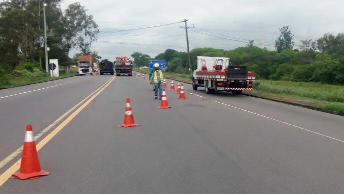 Bahia Norte inicia intervenção na rodovia Canal de Tráfego