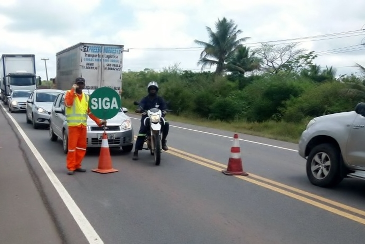 Bahia Norte dá sequência a intervenções nas rodovias nesta sexta-feira (01)