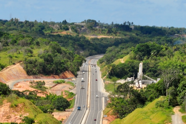 Bahia Norte registra mais de 264 mil veículos no feriado do Dia do Trabalhador