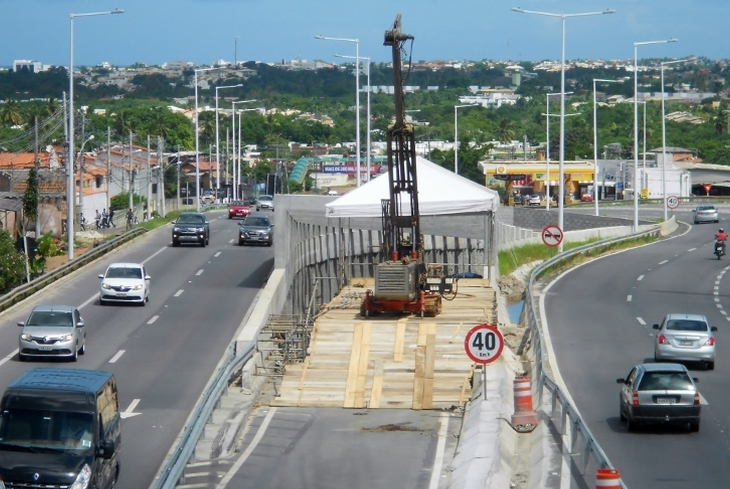 BA-099: Bahia Norte pede atenção de motoristas para sinalização de obras da Via Metropolitana