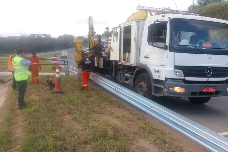 Bahia Norte executa intervenções no Sistema de Rodovias BA-093 até a próxima sexta-feira (24)