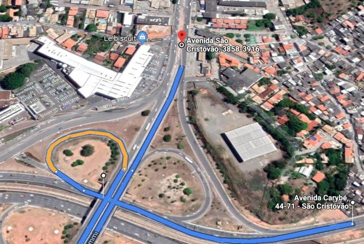 Transalvador interdita acesso à avenida São Cristóvão