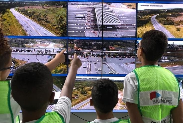 Programa em família mobiliza integrantes da concessionária Bahia Norte