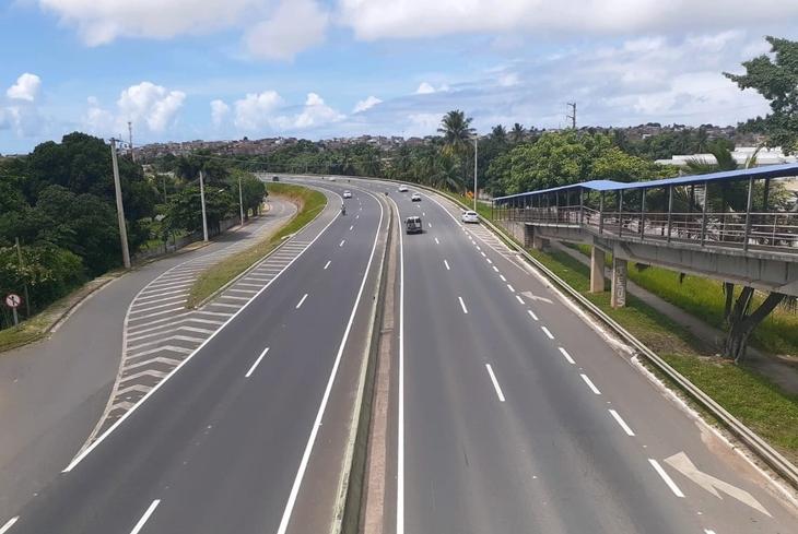 Bahia Norte anuncia intervenções no sistema de rodovias BA-093 entre os dias 30/03 e 05/04
