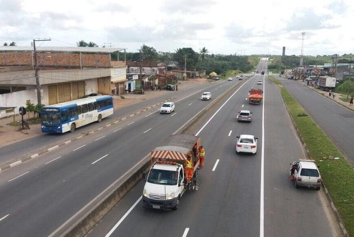 Bahia Norte informa intervenções programadas para as rodovias do Sistema BA-093 nesta semana