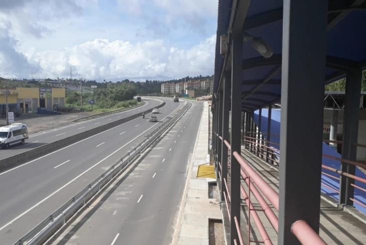 Bahia Norte conclui obra na estrada Cia-Aeroporto (BA-526)