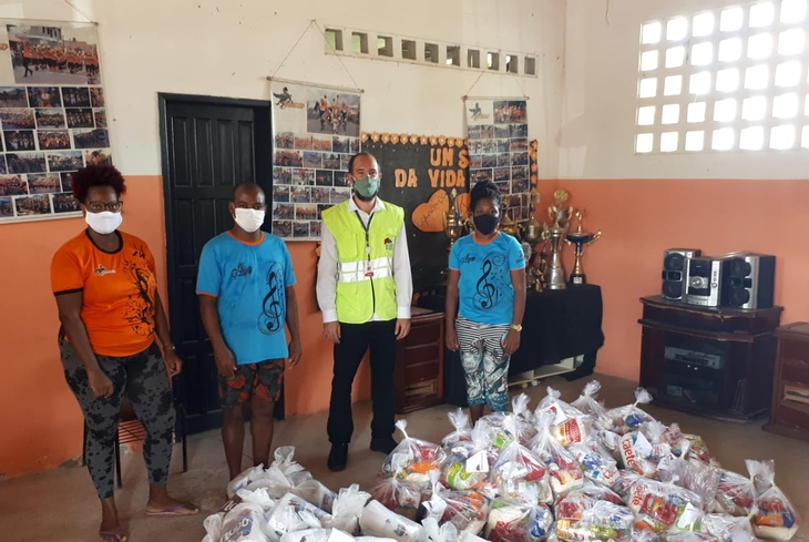 Bahia Norte inicia entrega de alimentos e produtos de higiene e limpeza para comunidades da região metropolitana