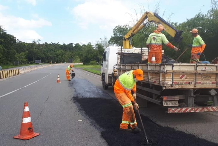 Sistema de rodovias BA-093 recebe obras de manutenção e melhorias até o dia 17 de maio