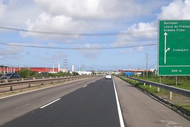 Bahia Norte informa programação de obras em rodovias até 12 de julho