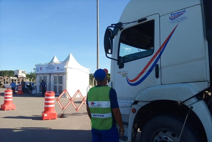 Últimos dias da ação gratuita de testagem de covid-19 em caminhoneiros na BA-093