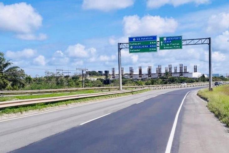 Bahia Norte informa obras no Sistema de Rodovias BA-093 até o dia 27 de setembro