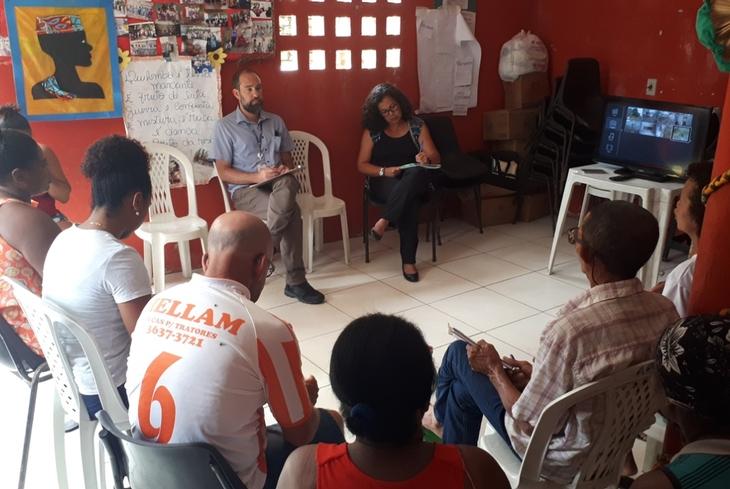 Bahia Norte recadastra líderes comunitários de comunidades do entorno do sistema BA-093