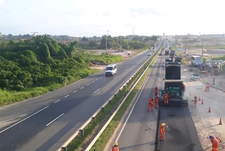 Rodovias do Sistema BA-093 recebem obras até o dia 18 de outubro