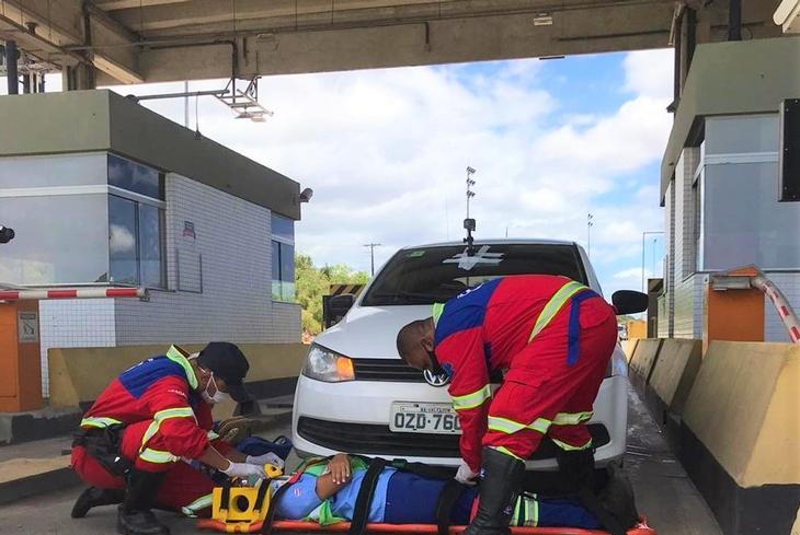 Bahia Norte realiza simulação de Emergência