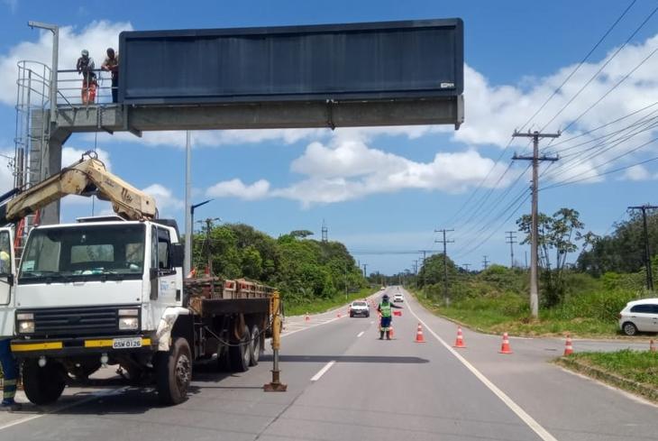 Bahia Norte informa obras no Sistema de Rodovias BA-093 até o dia 22 de novembro