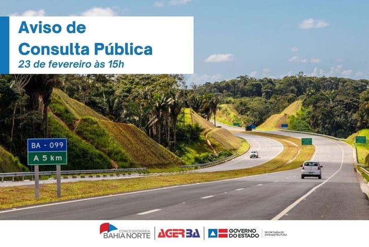 Bahia Norte realiza consulta pública no dia 23