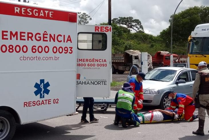 Bahia Norte realiza simulação de Emergência de veículos com carga química