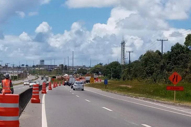 Bahia Norte requalifica sistema de drenagem na CIA-Aeroporto