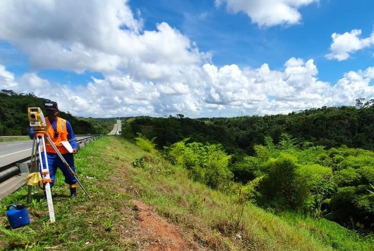 Bahia Norte informa operações de manutenção e melhorias nas rodovias do Sistema BA-093