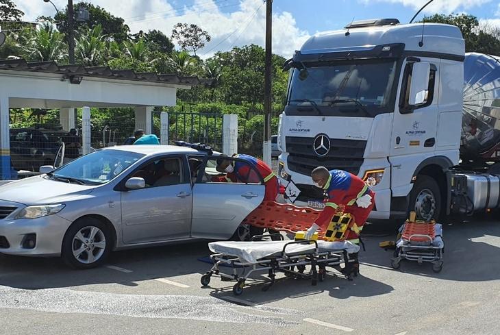 Equipes de resgate e salvamento da Bahia Norte participam de simulado de emergência na BA-524