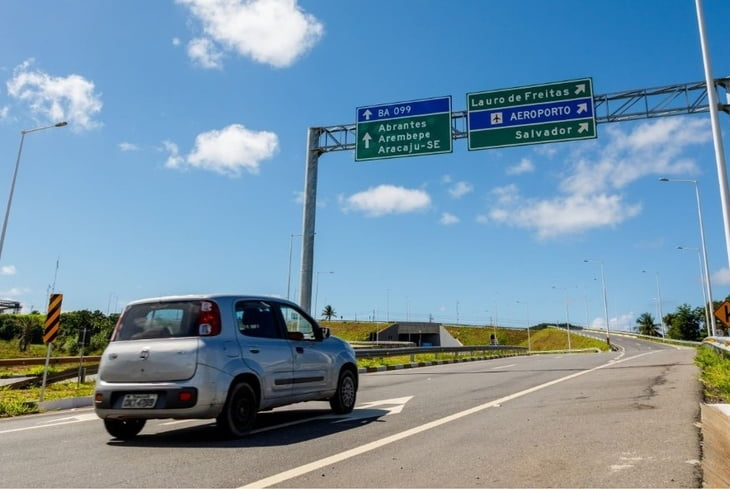 Bahia Norte registra aumento de 22% no tráfego durante o feriado de Corpus Christi