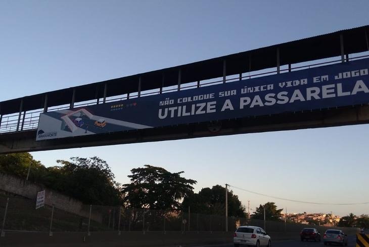 Dia do Pedestre: Bahia Norte faz campanha para estimular travessia segura