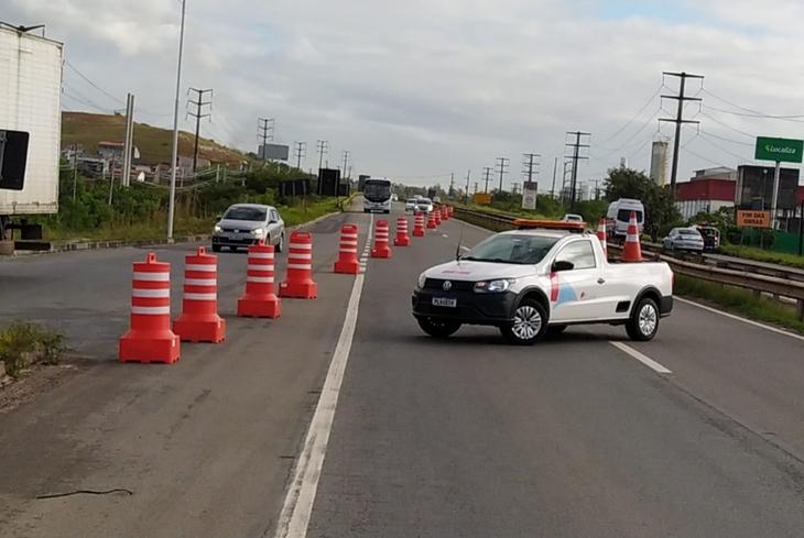 STT Camaçari informa intervenções no Viaduto do Trabalhador