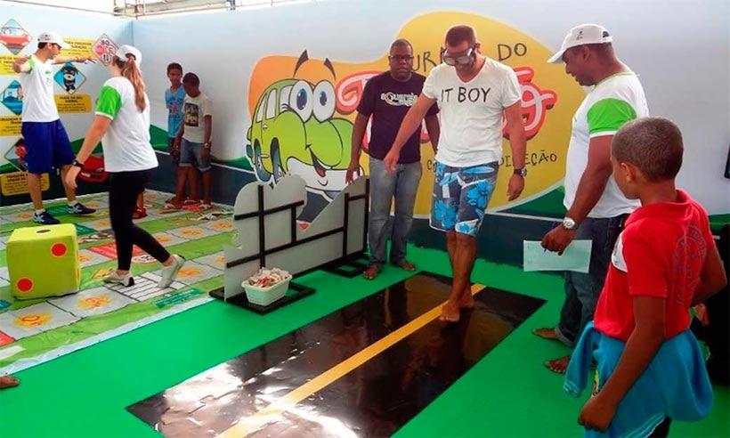 430 estudantes de Mata de São João participam do Projeto Turma do Trânsito