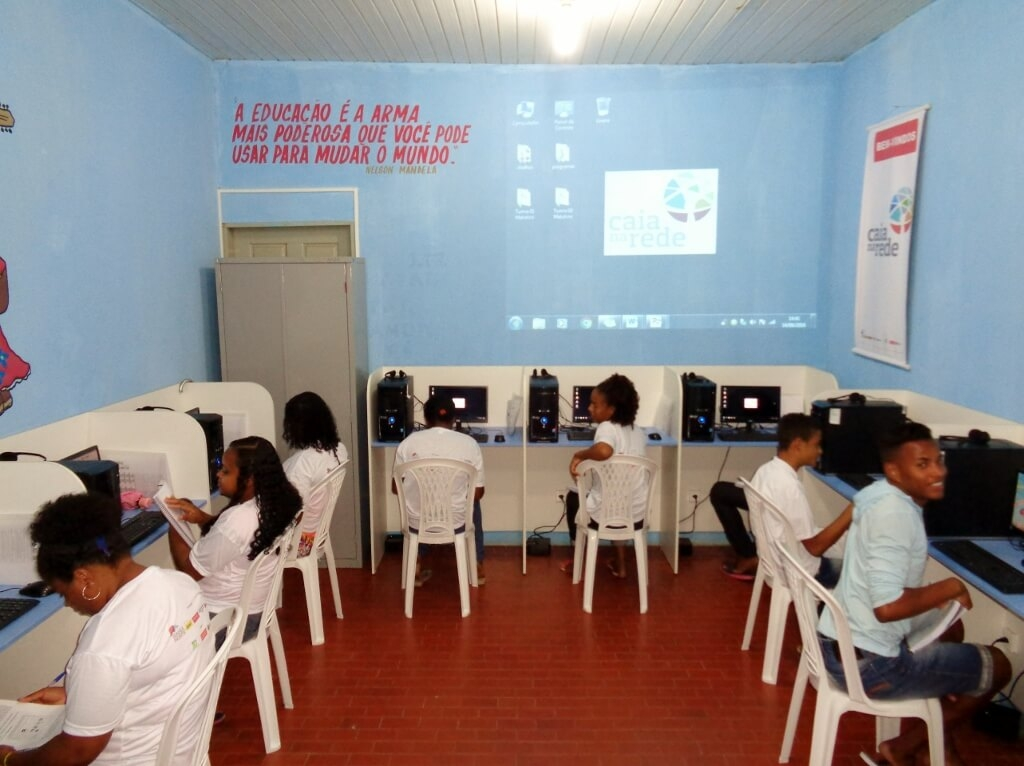 Comunidade Quilombola recebe capacitação em informática