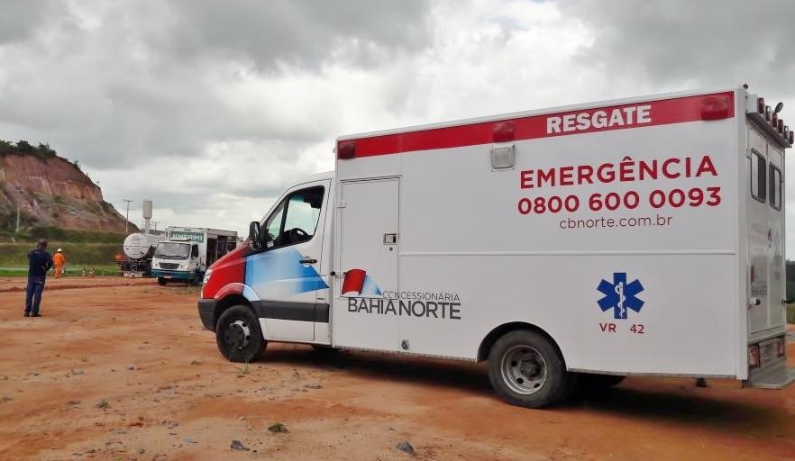 Simulado de Emergência é realizado na Canal de Tráfego