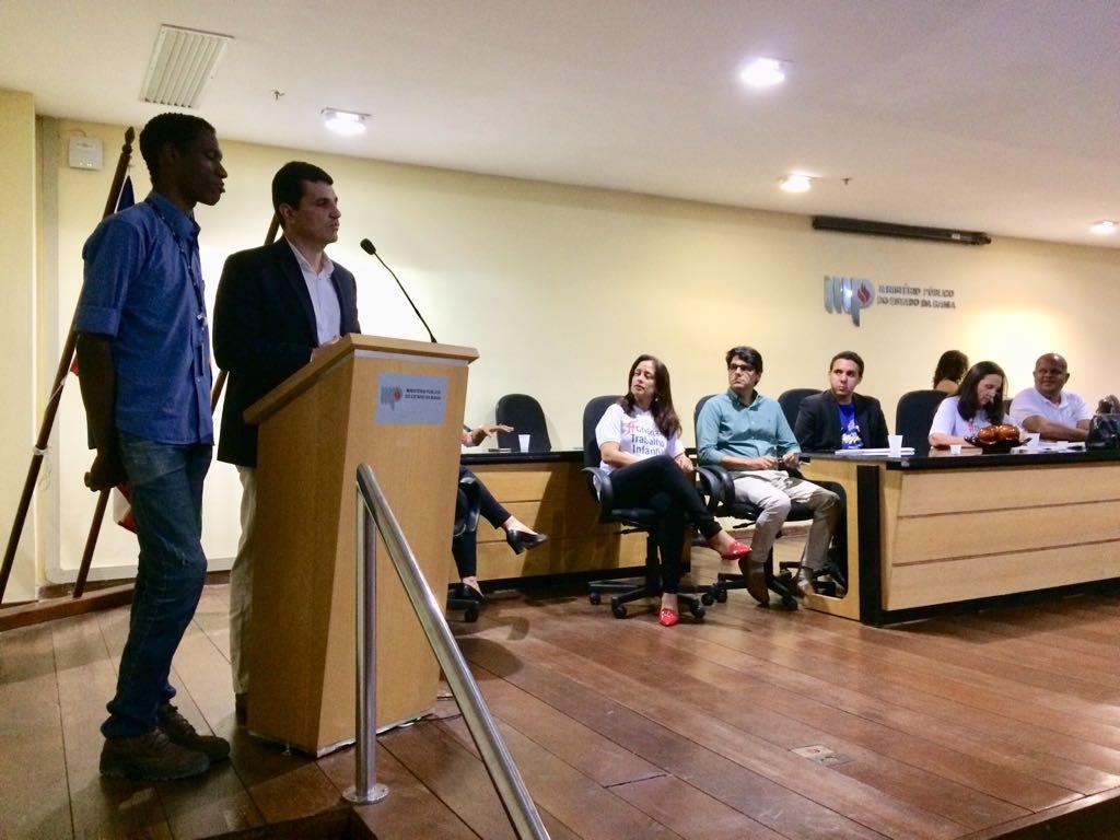 Bahia Norte e Ministério Público assinam termo de cooperação para combate ao trabalho infantil