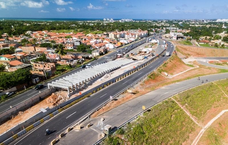 Via Metropolitana: Bahia Norte realiza intervenção na noite desta quarta-feira (20)