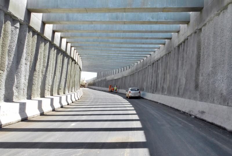 Bahia Norte finaliza passagem subterrânea que liga Via Metropolitana à BA-099