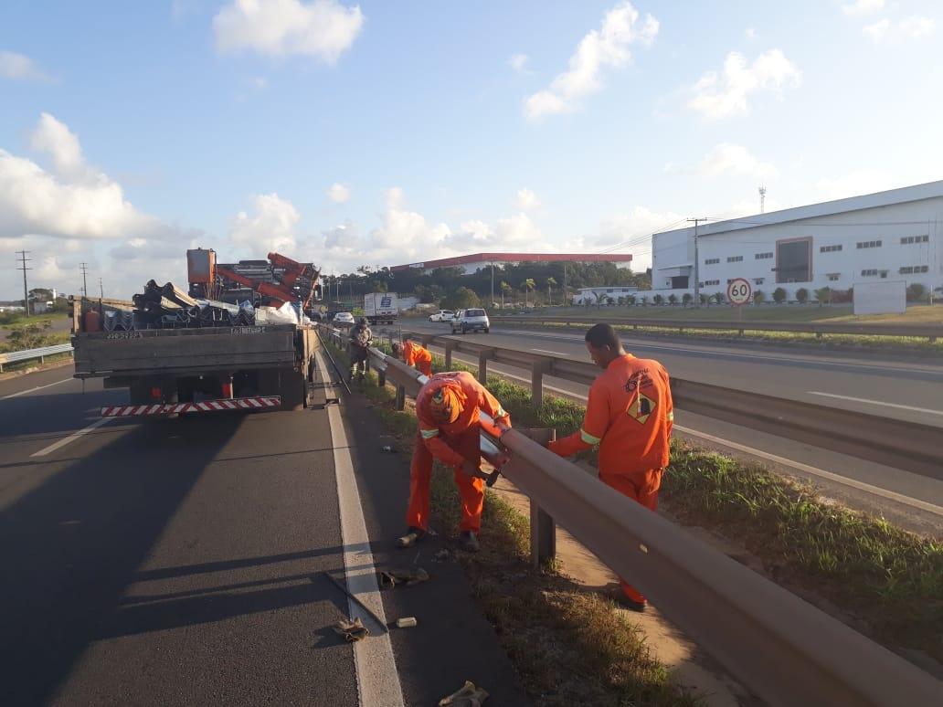Sistema de Rodovias BA-093 recebe intervenções até a próxima sexta (5)