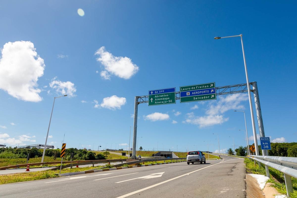 Rodovias do Sistema BA-093 são ótimas opções para o feriadão