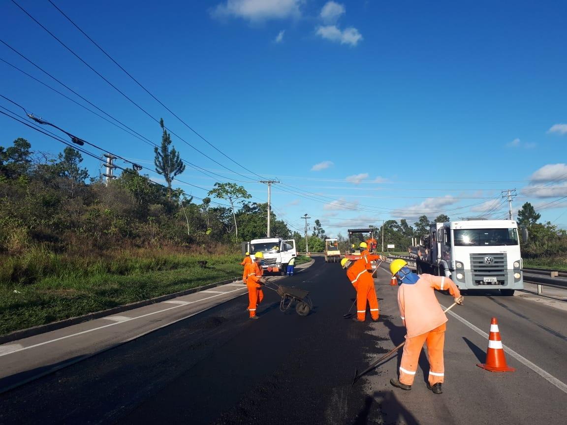 Bahia Norte executa intervenções no Sistema BA-093 até a próxima quinta-feira (21)