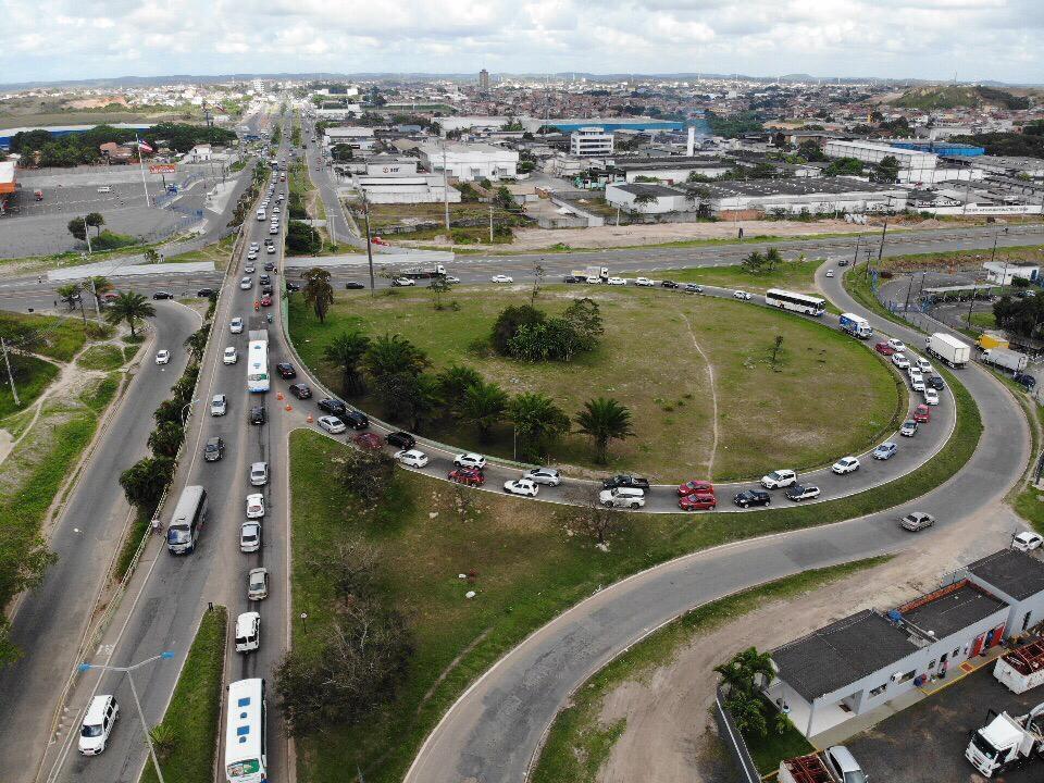 Obras no Viaduto dos Trabalhadores geram alterações no trânsito