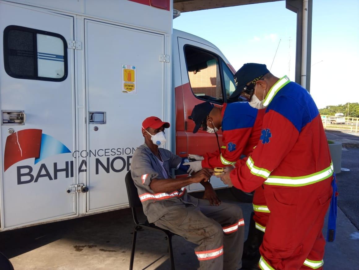 Com mais de 4 mil atendimentos, Bahia Norte permanece com pontos de apoio aos caminhoneiros no mês maio