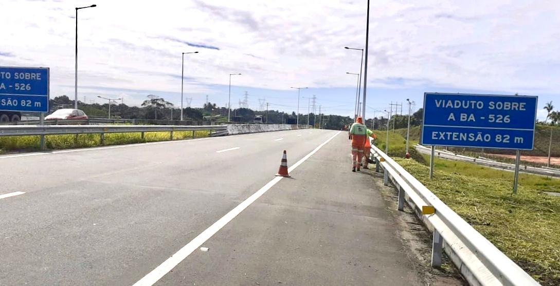 Bahia Norte informa obras até o dia 26 de julho nas rodovias do Sistema BA-093