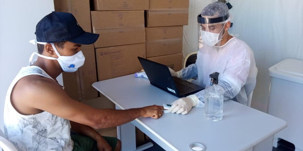 Bahia Norte celebra resultados da ação gratuita de testagem de covid-19 e vacinação para caminhoneiros