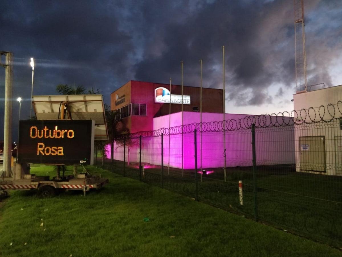 Outubro Rosa: Bahia Norte apoia campanha para alertar sobre câncer de mama