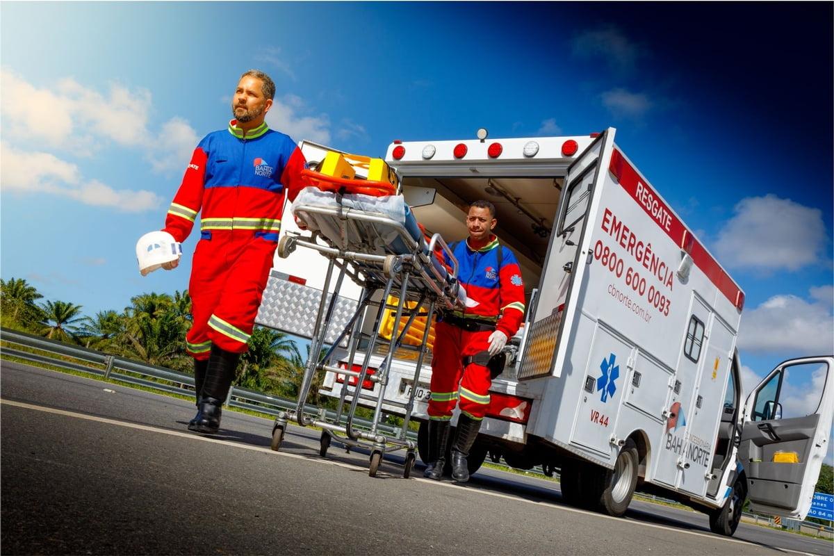 Médicos em favor da vida: atendimento no Sistema BA-093 é imprescindível para vítimas de acidente