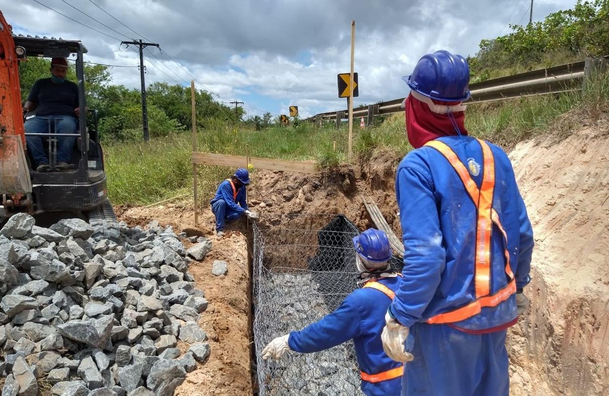 Confira a programação semanal de obras e melhorias nas rodovias do Sistema BA 093