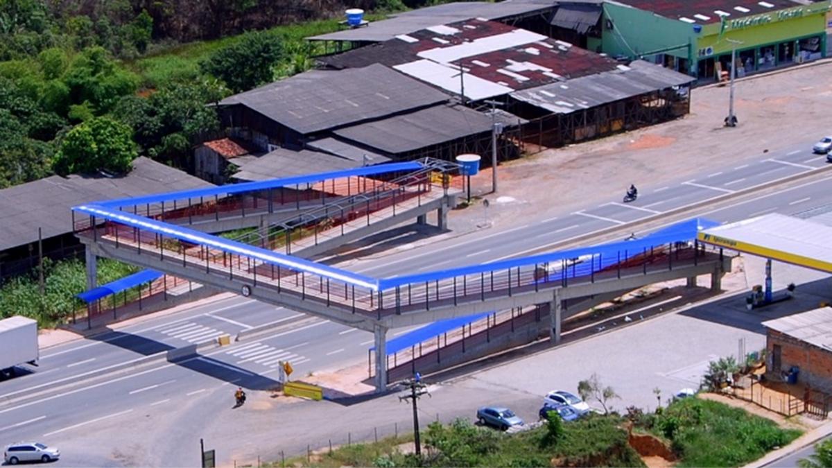 Bahia Norte investe na implantação de telas antiofuscantes na rodovia CIA-Aeroporto para proteger pedestres